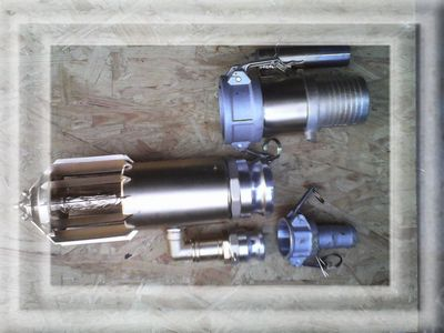 suction head for mini hydraulic dredger «Bagermaster»